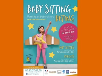 Babysitting Speed Dating 2018 Angoulême
