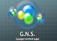 Groupe nominal sujet