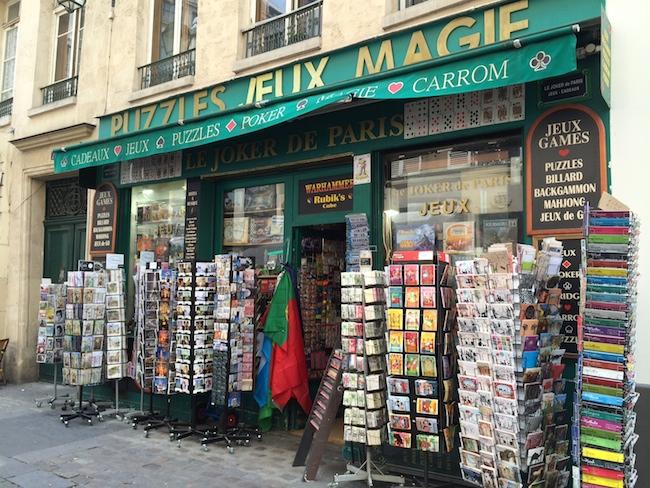 Le joker de Paris, le temple des jeux de société