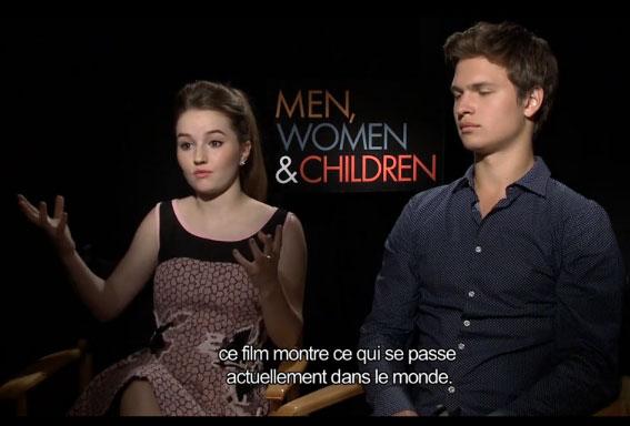 Men, women, children : la famille et les réseaux sociaux