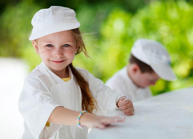 Comment cuisiner remplace les devoirs de vacances