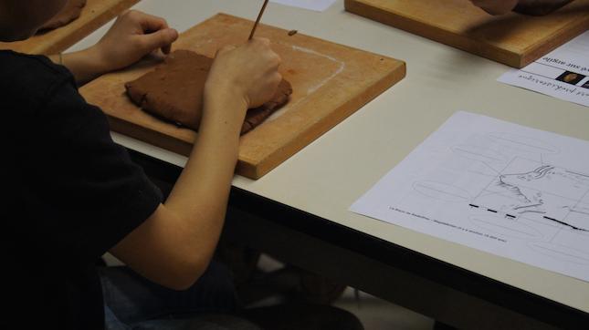 Des ateliers au musée d'Archéologie nationale
