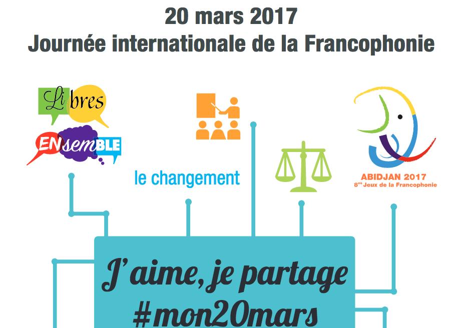 La francophonie : source de notre biodiversité culturelle !
