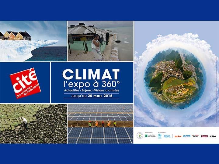 Climat, l'expo à 360°…