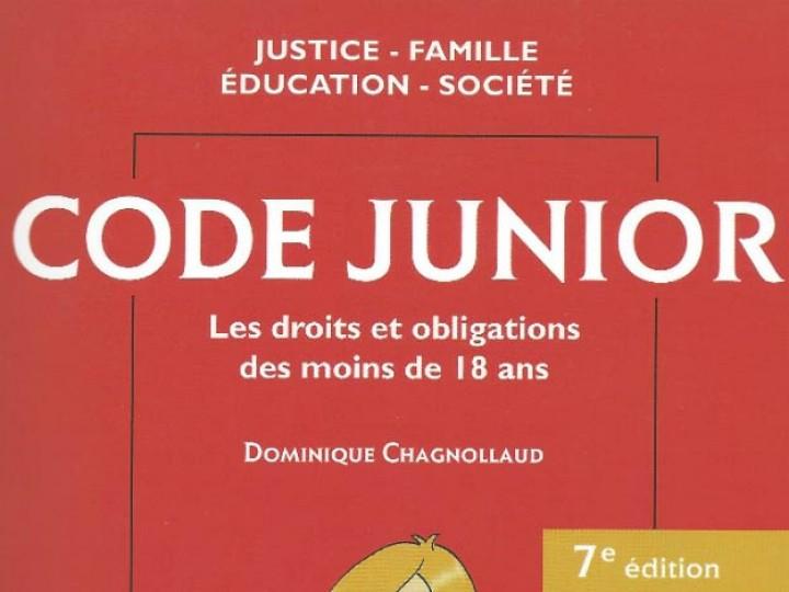 Le code civil junior : la loi expliquée aux enfants et aux parents