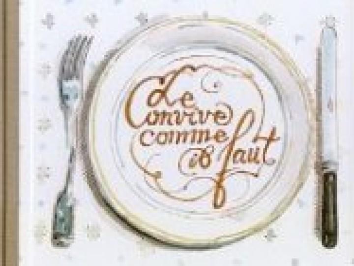 «Le convive comme il faut», de Philippe Dumas