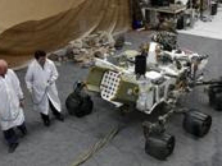 La Cité de l'espace de Toulouse expose Curiosity et vous explique Mars