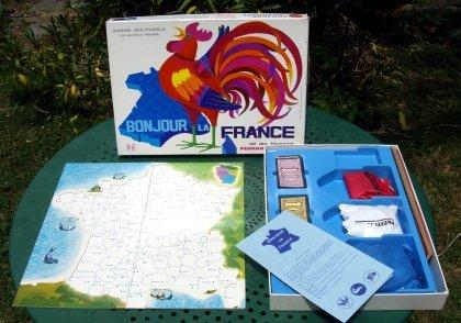 Le jeu Bonjour la France de chez Nathan