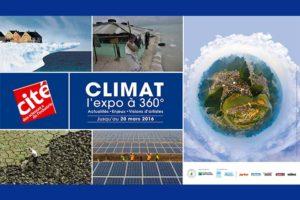 Affiche de Climat, l'expo à 360° Paris