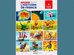 Thierry Laudrain publie une BD monumentale : l'Histoire de France, en 40 pages, du Big Bang à Louis XIV ! A partager avec les réfractaires des cours d'Histoire!